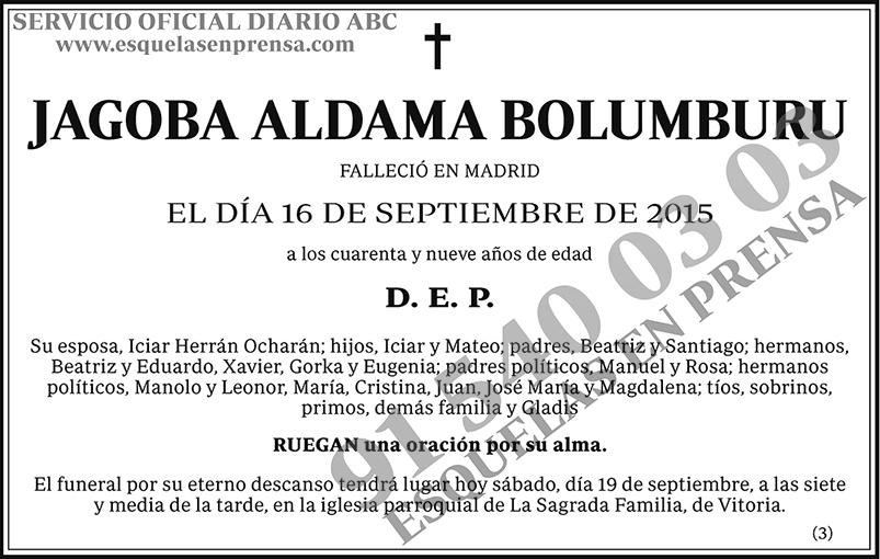 Jagoba Aldama Bolumburu